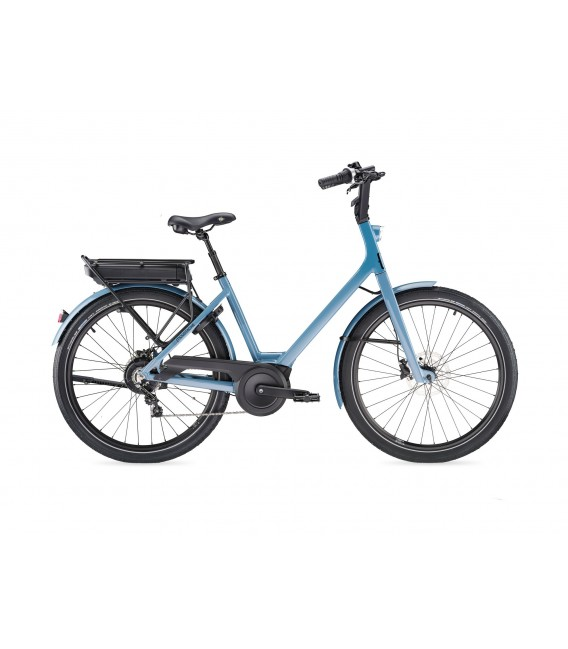 VTT à assistance électrique Moustache Lundi 26.2 grey blue 2019