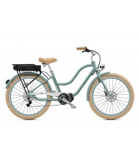 "Cruiser à assistance électrique O2Feel POP N8 Gris Perle 26"" Mid - P400 2020"