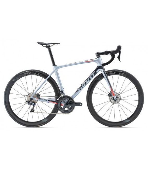 Vélo de route Giant Race TCR Advanced Pro 1 Disc 2019