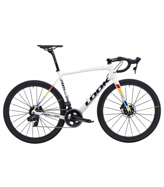 Vélo de route Look 785 HUEZ RS Disc SRAM FORCE ETAP proteam white glossy  2020