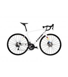 Vélo de route Look 765 Optimum Disc SHIMANO ULTEGRA proteam white glossy 2020