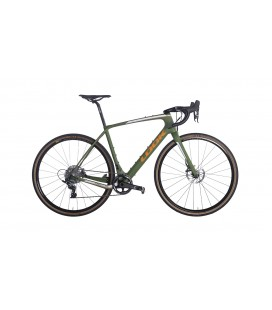 Gravel bike Look 765 RS Gravel SRAM FORCE green mat 2020