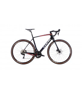 Gravel bike Look 765 RS Gravel SHIMANO GRX 810 black red 2020
