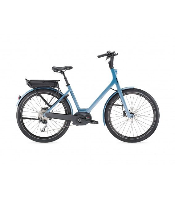 VTT à assistance électrique Moustache Lundi 26.3 - 400 WH grey blue 2019