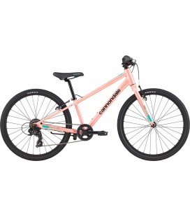 "VTT Enfant Cannondale Kids Quick 24"" rose 2020"