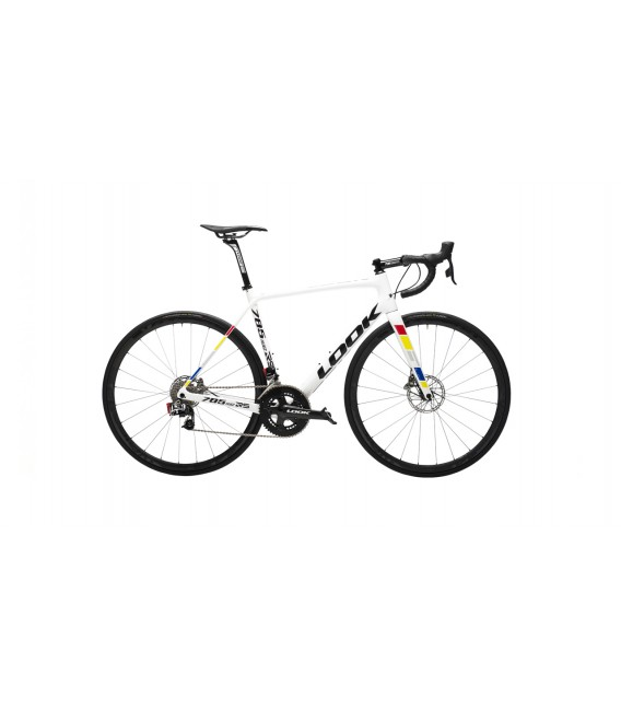 Vélo de route Look 785 HUEZ RS Disc SRAM ETAP proteam white 2019