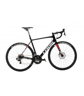Vélo de route Look 785 HUEZ RS Disc SRAM ETAP black red 2019