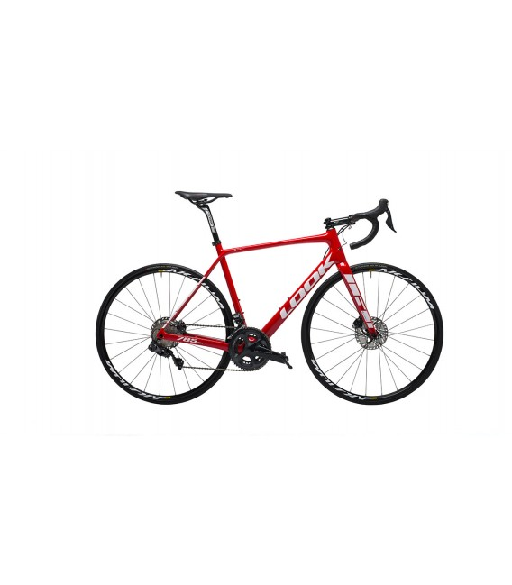 Vélo de route Look 785 HUEZ Disc SHIMANO ULTEGRA DI2 red 2019