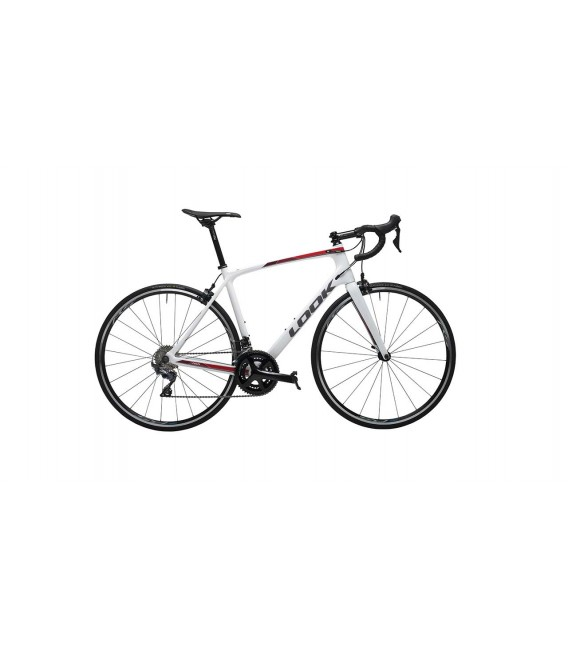 Vélo de route Look 765 Optimum SHIMANO ULTEGRA MIX white 2019
