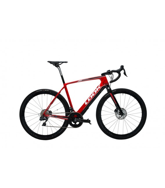 Vélo de route à assistance électrique Look e-765 OPTIMUM DISC ULTEGRA DI2 2019
