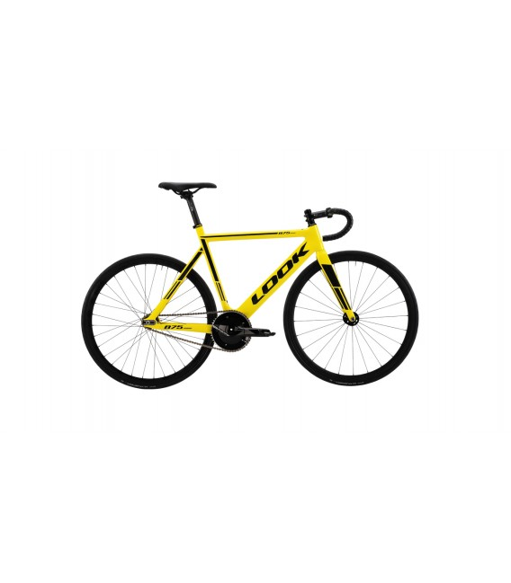 Vélo de course Look 875 Madison TRACK GROUPSET yellow 2019
