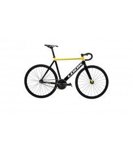 Vélo de course Look AL 464 P TRACK GROUPSET black yellow 2019