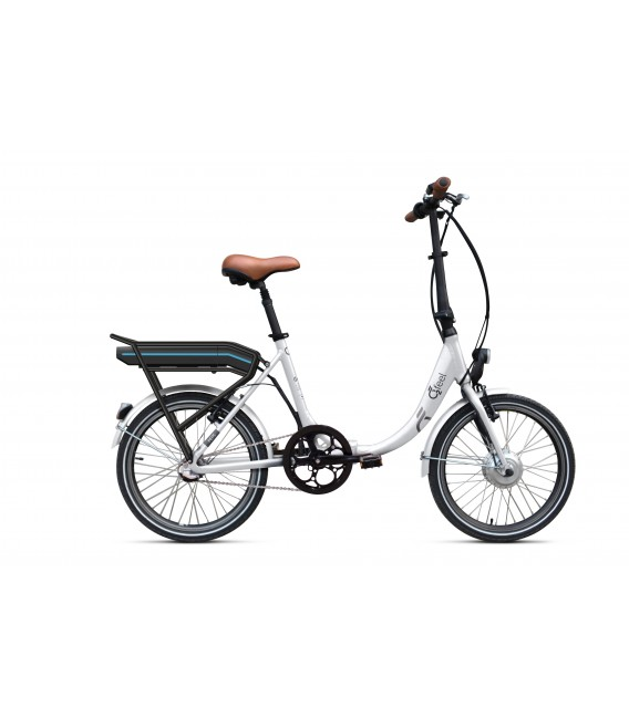 Vélo pliant à assistance électrique O2Feel PEPS N3 ORIGIN white 374 2020