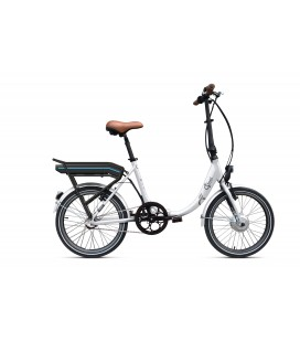 Vélo pliant à assistance électrique O2Feel PEPS N3 ORIGIN white 504 2020