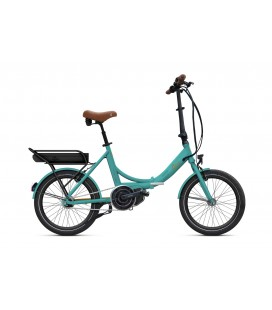 Vélo pliant à assistance électrique O2Feel PEPS N7C SHIMANO STEPS E5000 mint/copper P600 2020