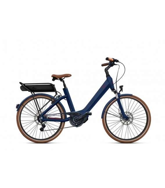 Vélo à assistance électrique O2Feel SWAN LITTLE N7C SHIMANO STEPS E5000 blue/brick P400 2019