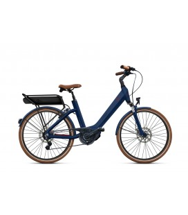 Vélo à assistance électrique O2Feel SWAN LITTLE N7C SHIMANO STEPS E5000 blue/brick P600 2019