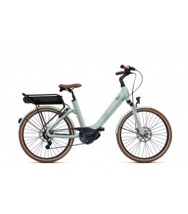 Vélo à assistance électrique O2Feel SWAN LITTLE N7C SHIMANO STEPS E5000 light green/blue P400 2019