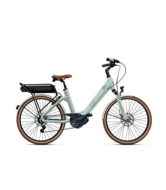 Vélo à assistance électrique O2Feel SWAN LITTLE N7C SHIMANO STEPS E5000 light green/blue P600 2019