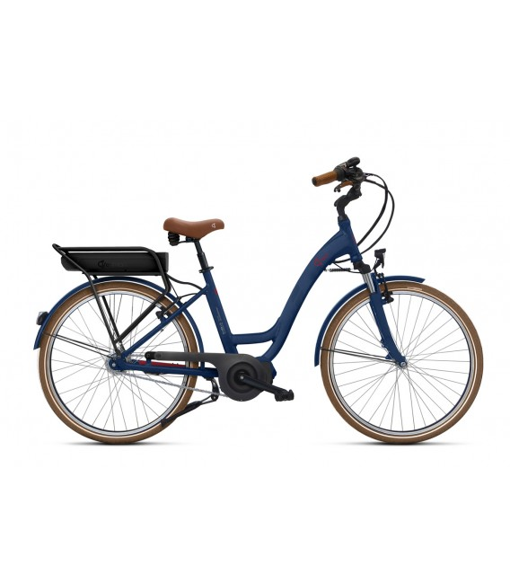 Vélo à assistance électrique O2Feel VOG N7C SHIMANO STEPS E5000 blue/brick P600 2019