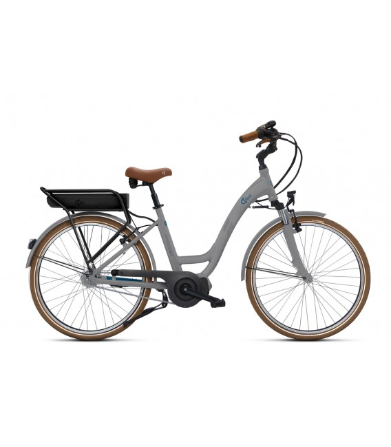 Vélo à assistance électrique O2Feel VOG N7C SHIMANO STEPS E5000 grey/blue P400 2019