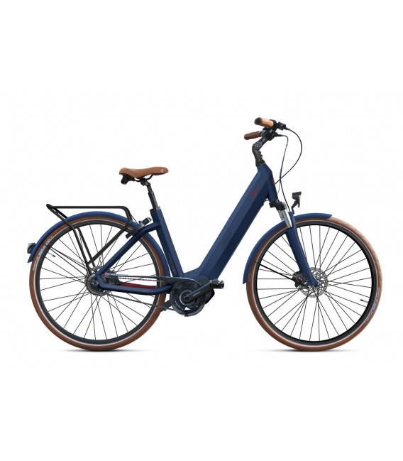 Vélo à assistance électrique O2Feel iSWAN N7C SHIMANO STEPS E5000 blue/brick iP432 2019