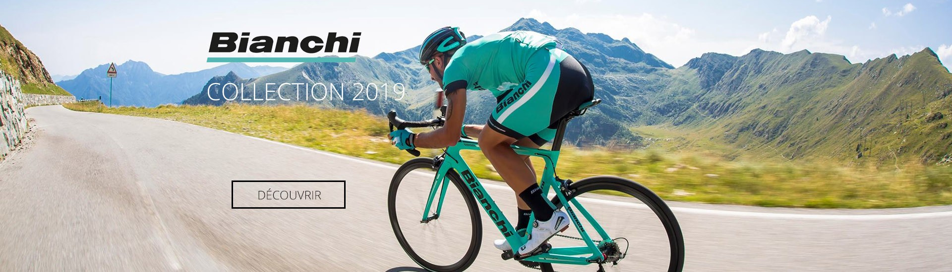 Collection Bianchi Bikes 2019