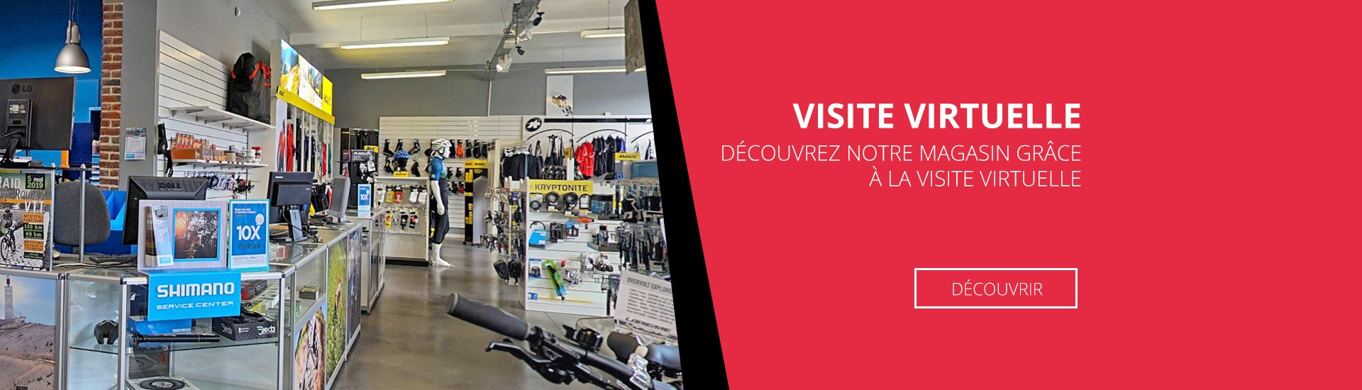 Visite virtuelle magasin Cycles Barelli